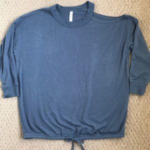 RVCA cold shoulder sweater